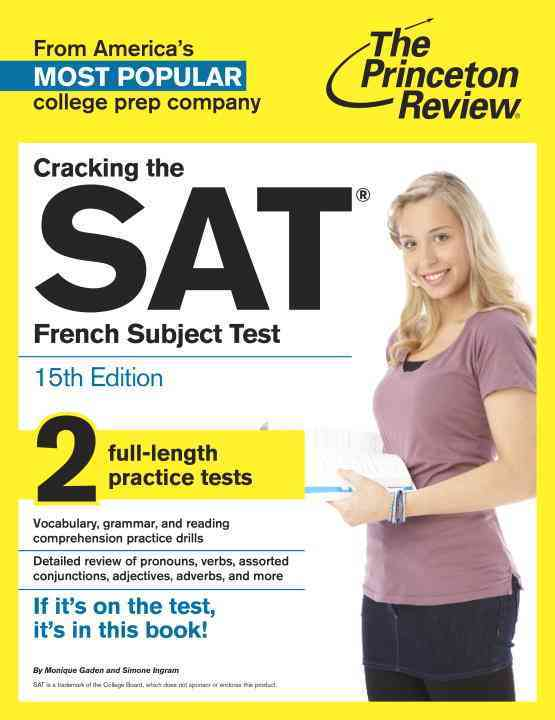 Princeton Review Cracking the Sat French Subject Test By Princeton Review (COR)